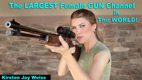 Sharing Guns & Freedom – THIS is the LARGEST Female GUN channel… in the WORLD!