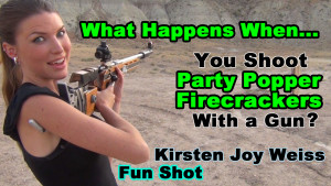 What Happens When…. You Shoot Party Poppers With a Gun?