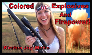 COLORED EXPLOSIVES and FIREPOWER – Happy Independence Day!