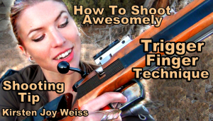 Proper Trigger Finger technique shooting tip how to shoot