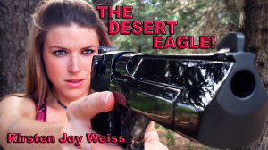The Desert Eagle One of the Worlds Largest Pistols Kirsten Joy Weiss gun review
