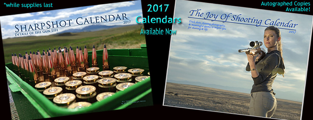 The 2017 Joy Of Shooting Calendars Are Here!