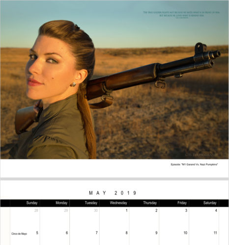 2019 Joy of Shooting Calendars are HERE – For a Limited Time!