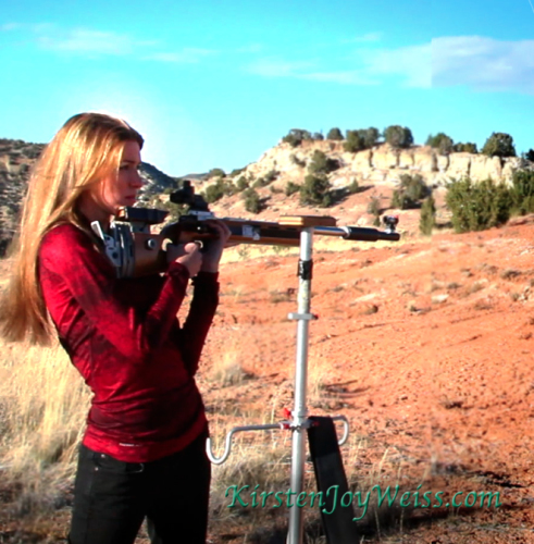 Aiming field Kirsten Joy Weiss
