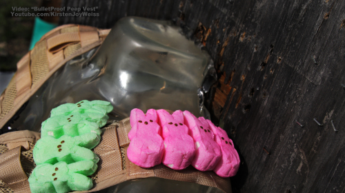 A Bullet Proof Vest Made of Marshmallow Peeps?!