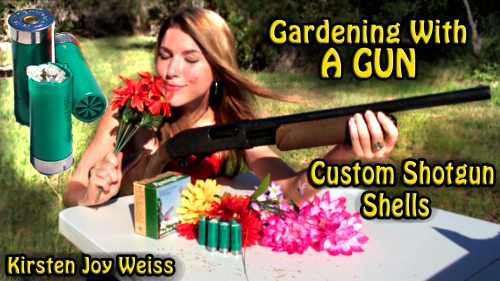 Gardening The Fast and Easy Way – Use A Gun! A New Kind of Garden Tool
