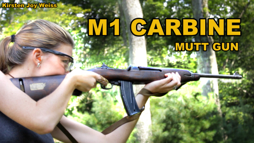 The Mutt Gun? – M1 Carbine