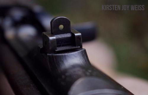 M1 carbine sights Kirsten Joy Weiss