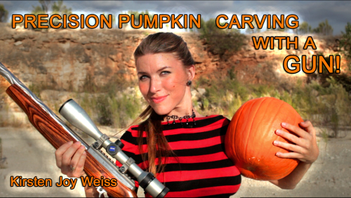 Precision Pumpkin Carving youtube Kirsten Joy Weiss