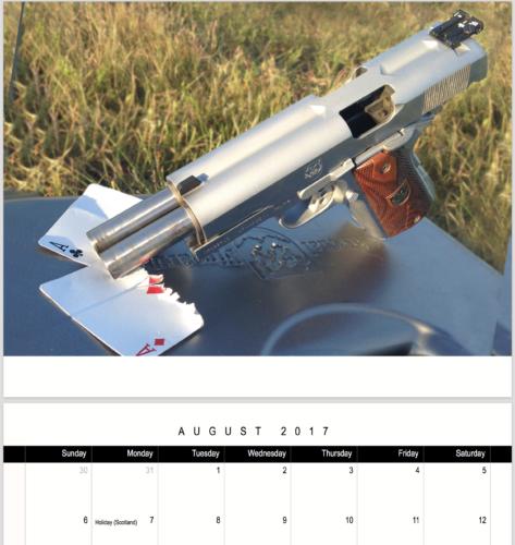 Sharpshot Gun Calendar