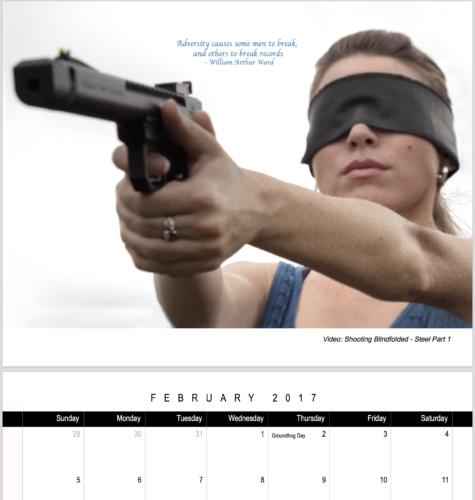 joy of shooting calendar 2017