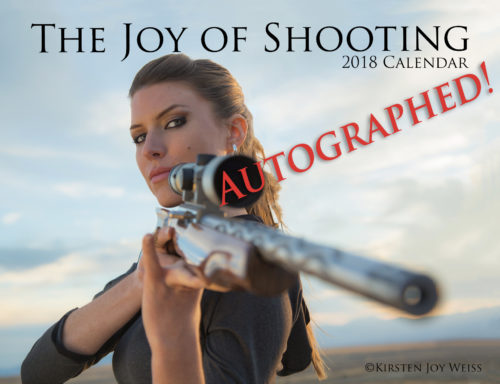 2018 Joy of Shooting Autographed Calendars – EXTREMELY Limited!