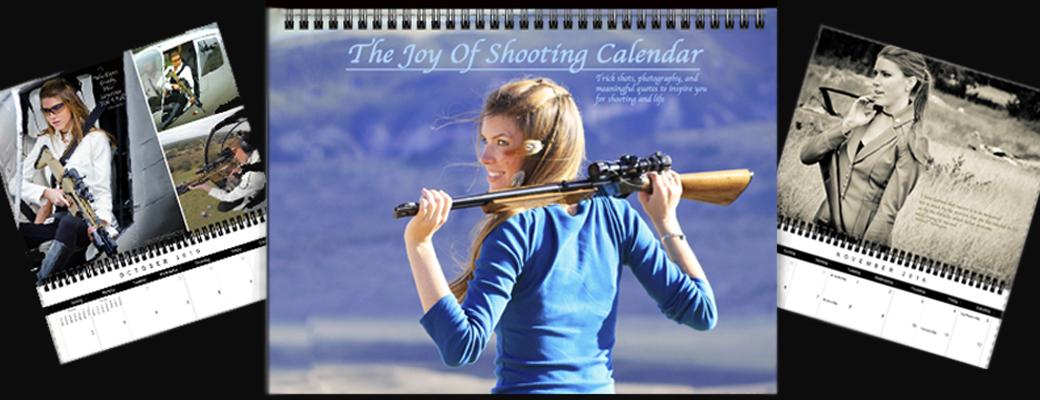 The Joy of Shooting 2016 Calendar is Here!