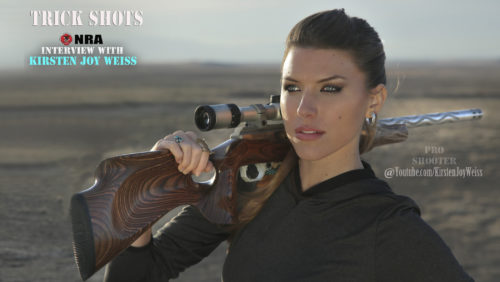 Trick Shots & NRA Interview With  Kirsten Joy Weiss, Pro Shooter & Freedom Advocate