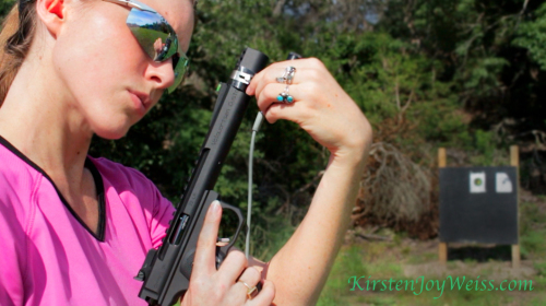 looking at volquartsen pistol scatt Kirsten Joy Weiss words